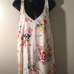 Beautiful Floral HighLow Summer Dress Sz 10